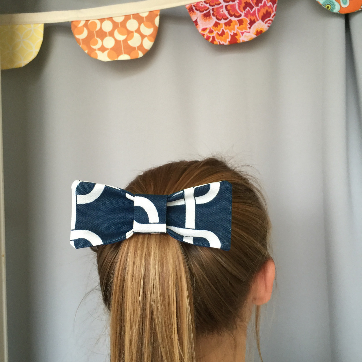 Inspired Project #6: Large Fabric Hair Bow