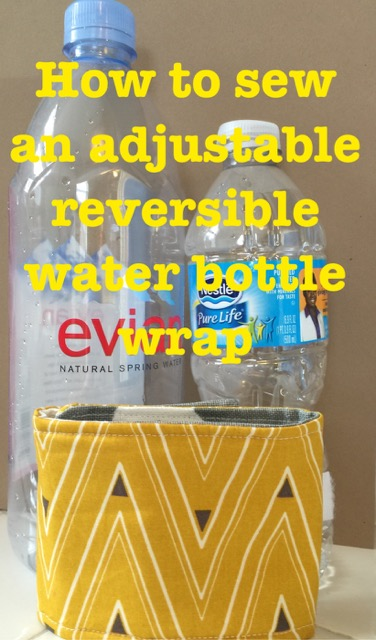 Adjustable Reversible Water Bottle Wrap