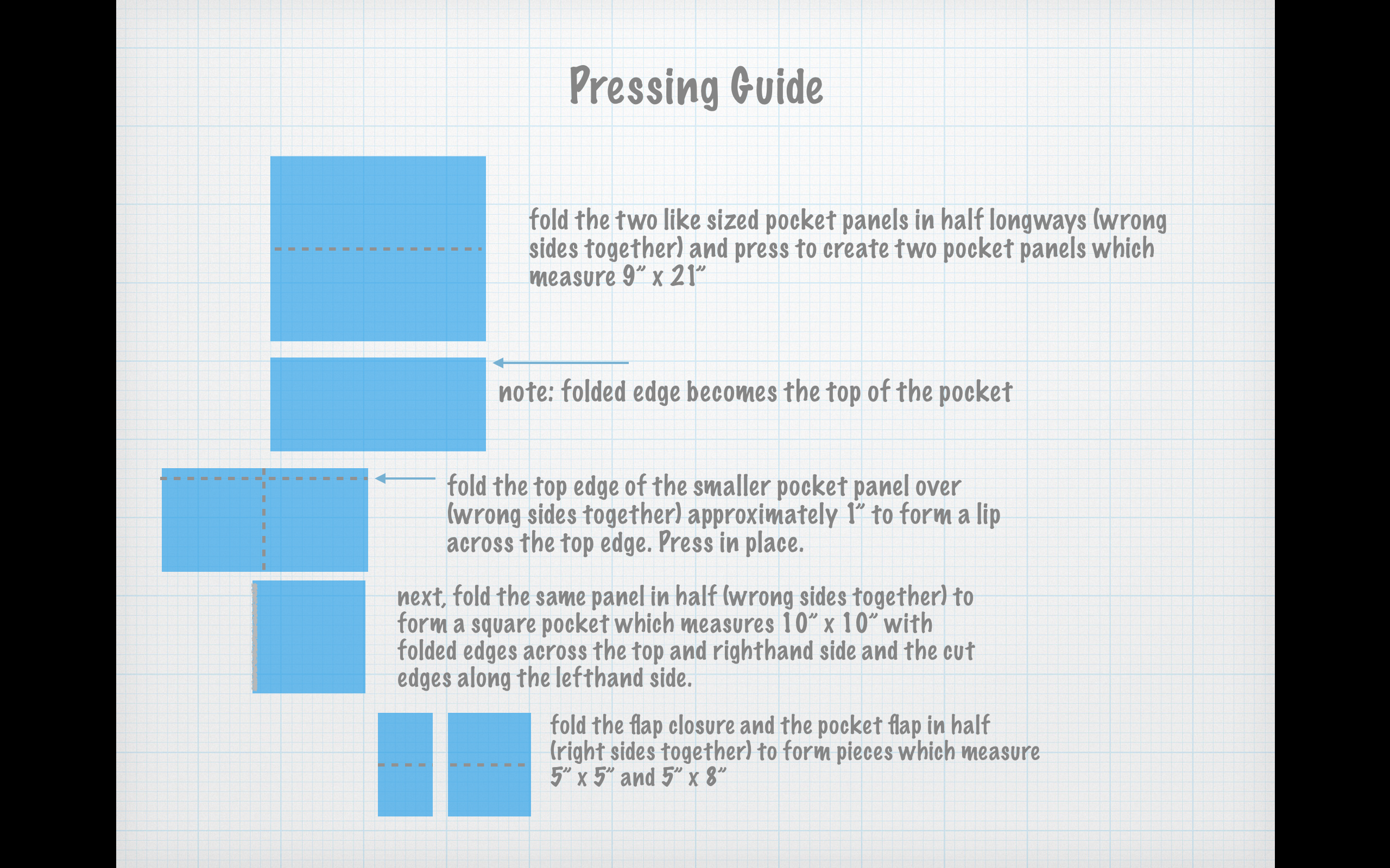 Pressing Guide Page 1