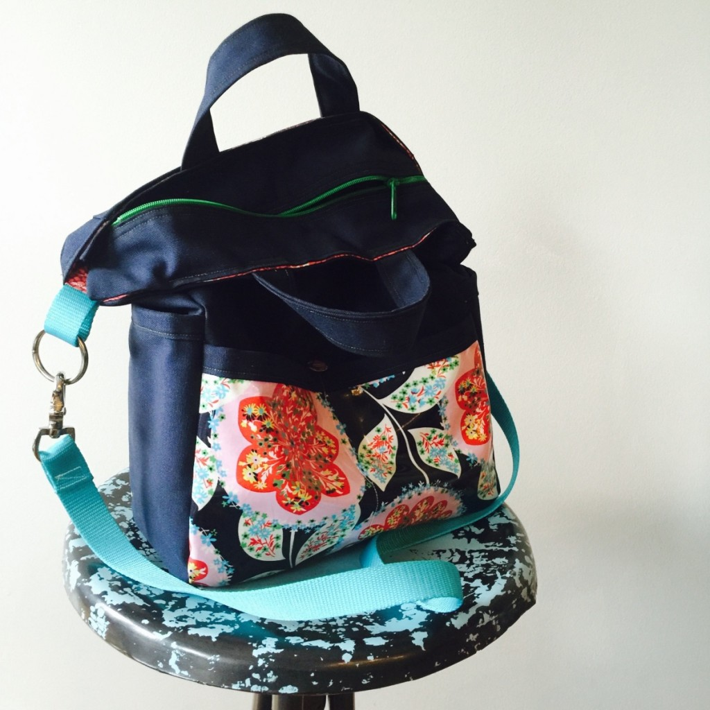 City Slicker Tote Bag Sewing Tutorial