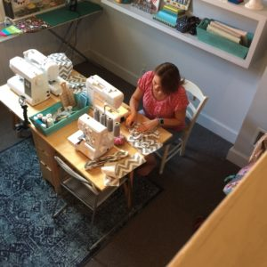 Sewing blogger, Andrea Chapman