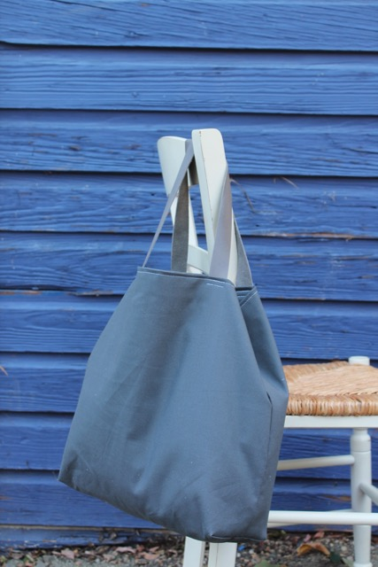 How to sew a large project tote bag