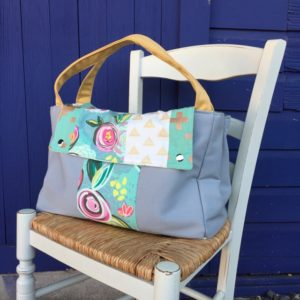 How to sew a commuter tote bag