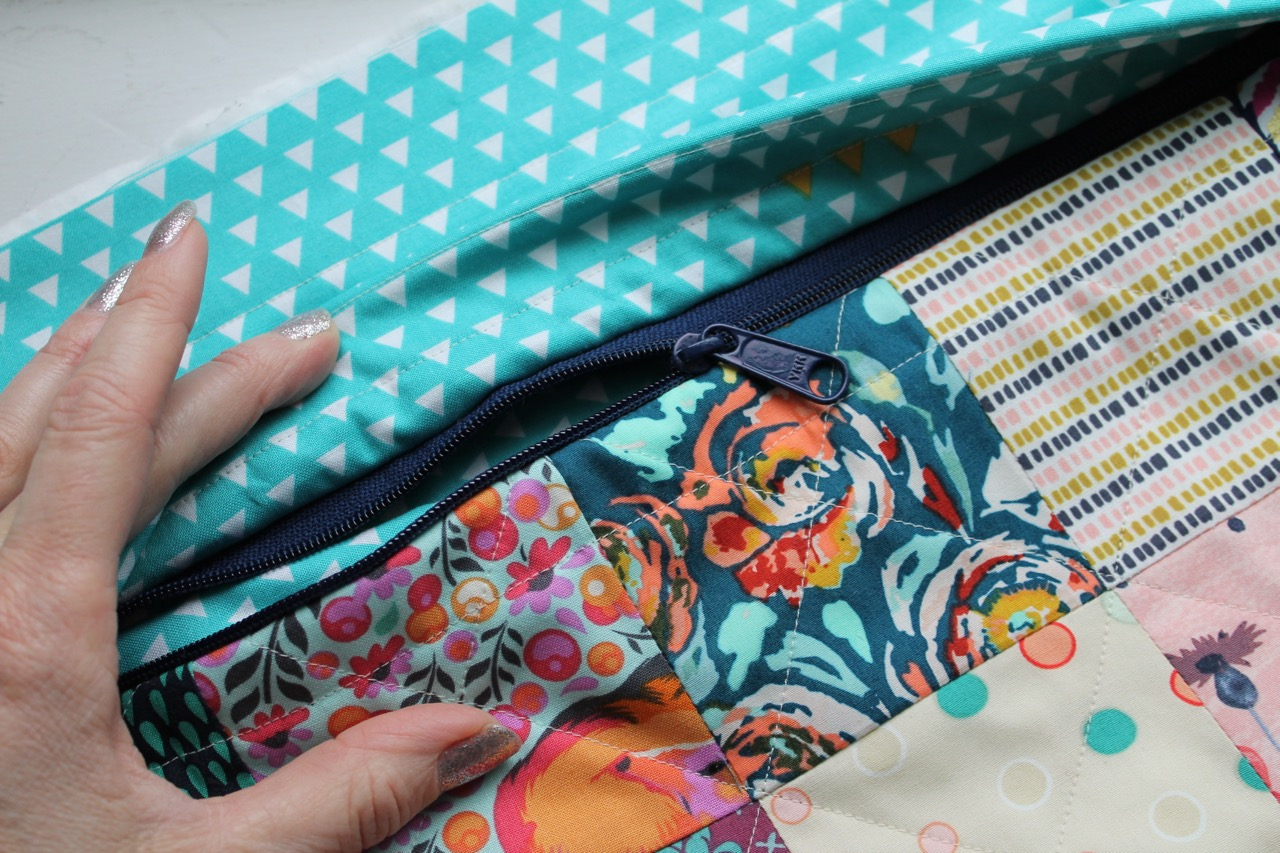Hidden Zipper Pocket by Sewspire