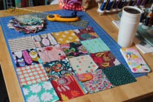 Patchwork Bag Design by Sewspire