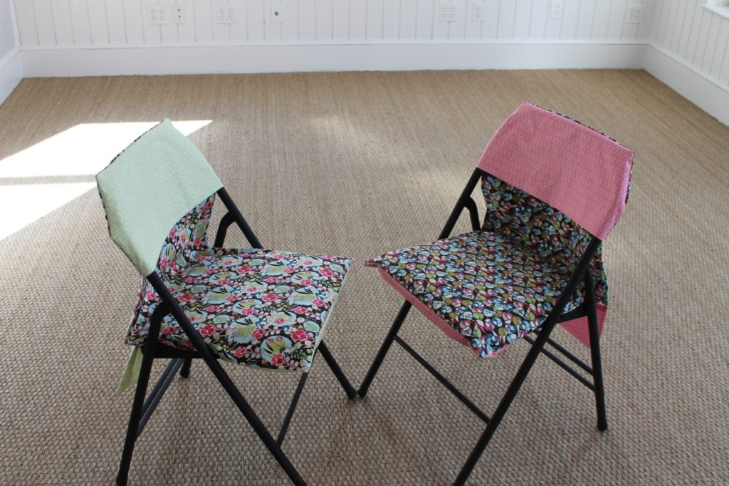 How to Sew A Reversible Folding Chair Slipcover – Sewspire