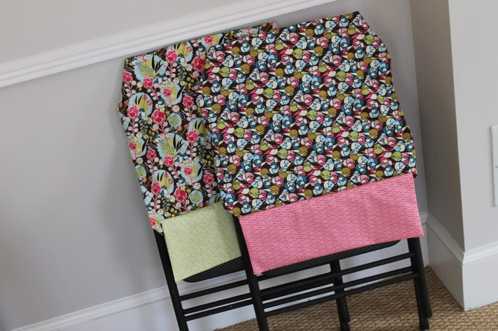 How to Sew a Reversible Folding Chair Slipcover by Sewspire