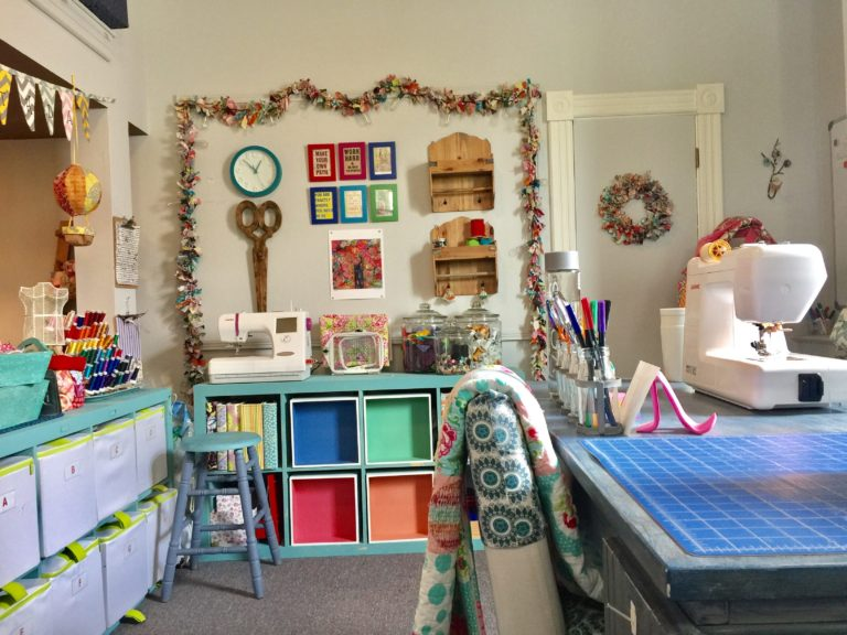 Sewing Studio Tour, Design, Inspiration and Giveaway!