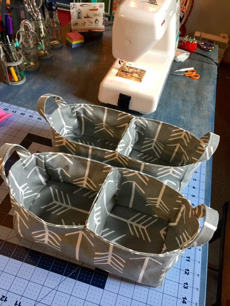 How to Sew a Divided Organizer Caddy by Sewspire