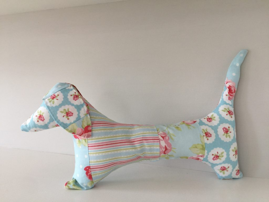 How to sew a dachshund dog pattern