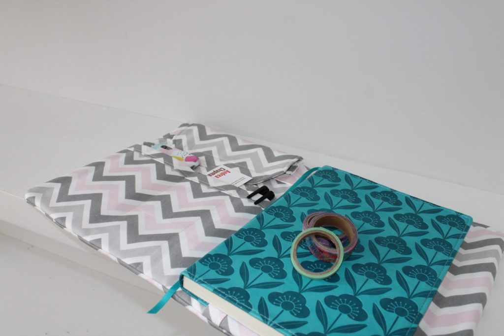 How to sew a planner cover or pad folio notebook