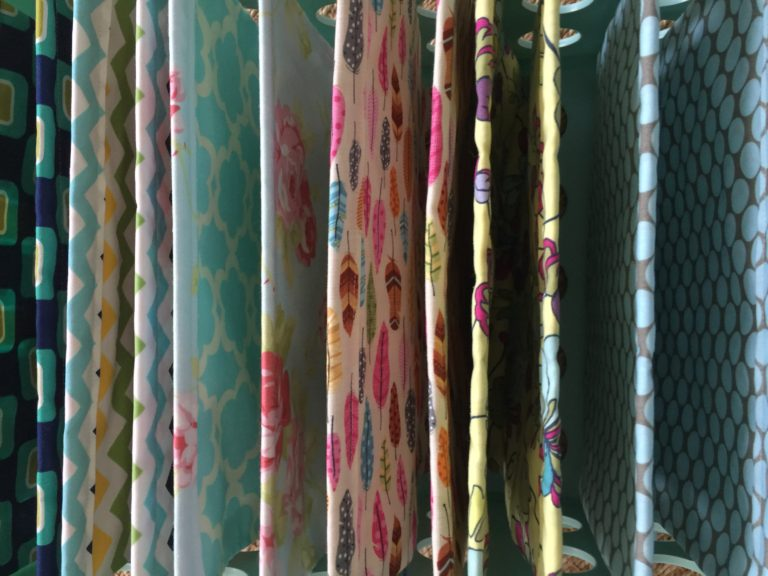 How to sew a hanging folder file