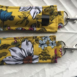 How to sew an essential oil roller ball key fob holder