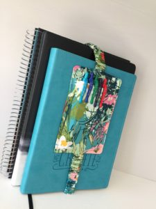 How to sew a pen pocket for your planner or journal