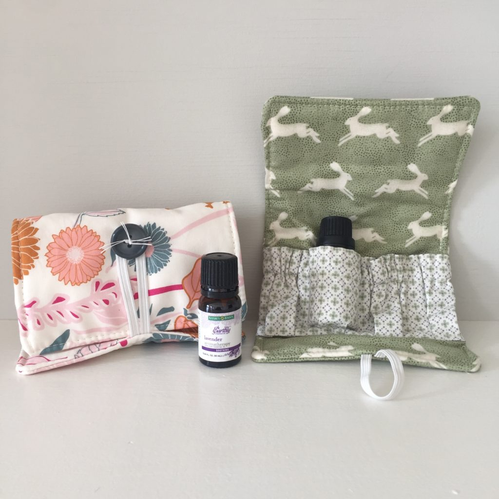 How to sew an essential oil wallet