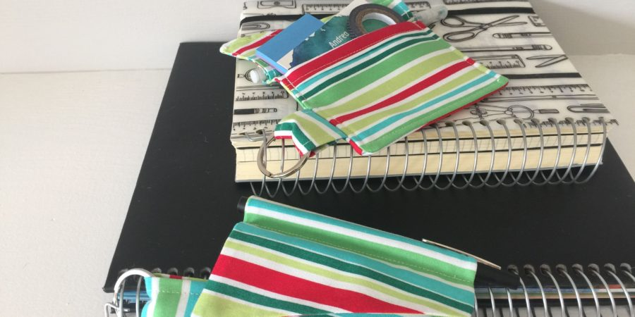 How to sew a planner pocket
