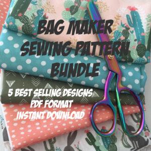 Bag Making PDF Pattern Bundle
