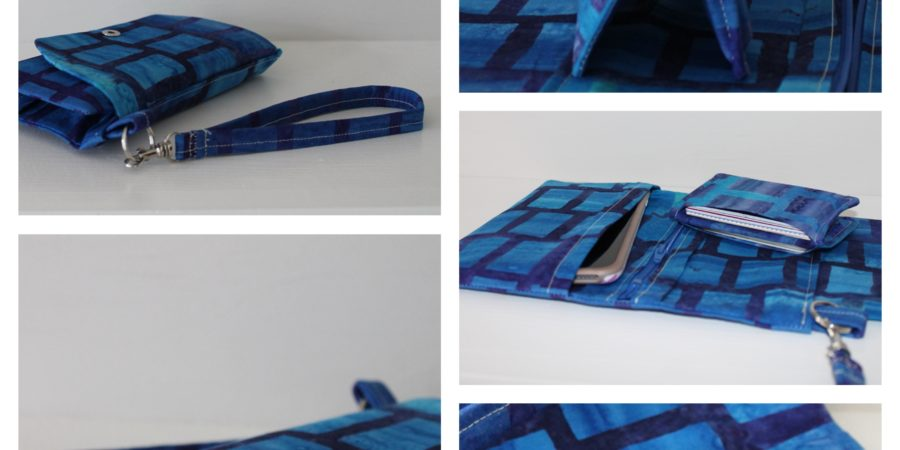 How to sew a phone wallet by Sewspire.com