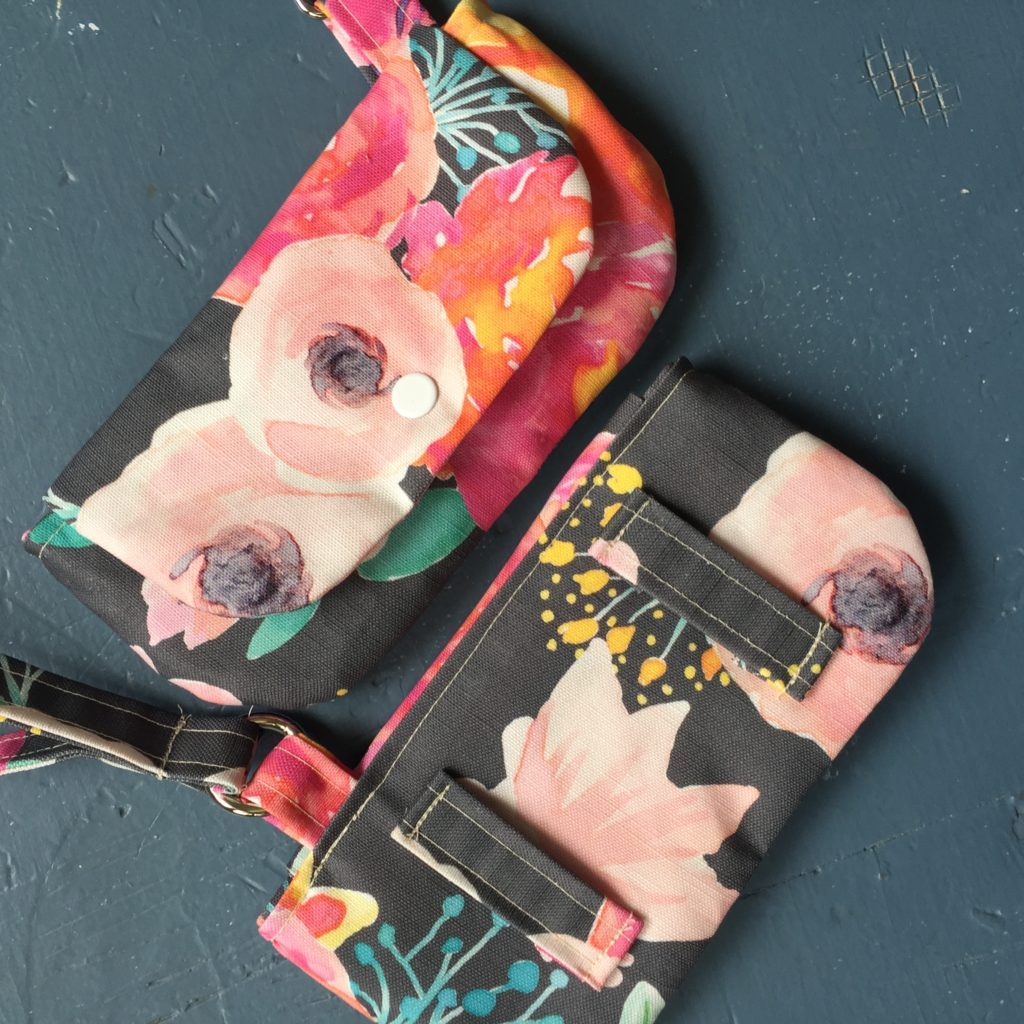 How to sew a wristlet fanny pack