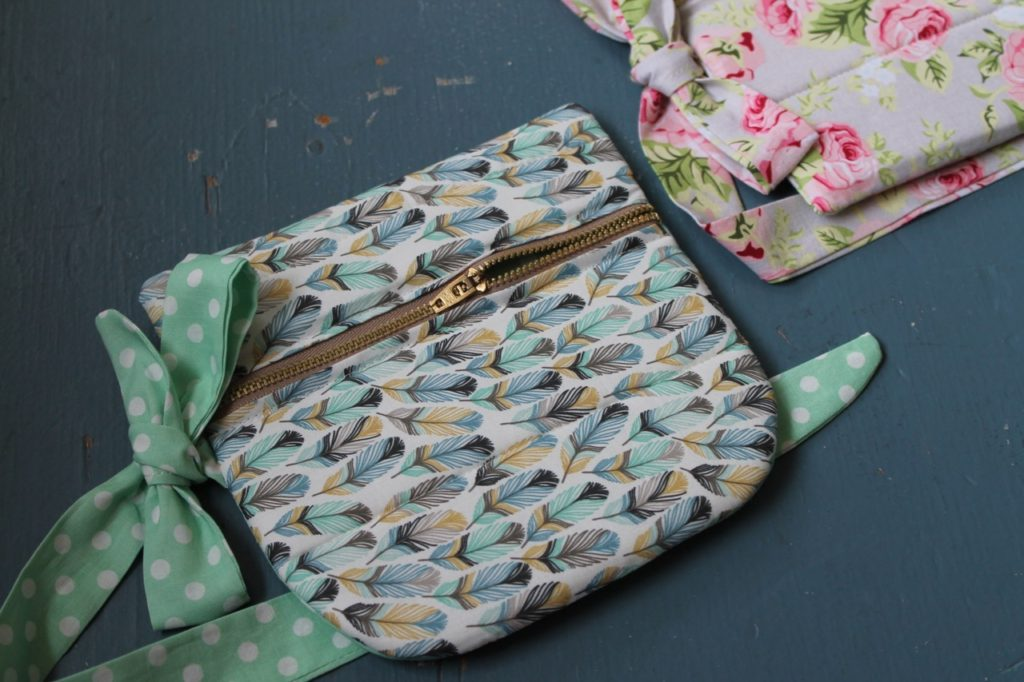 How to sew a waist bag fanny pack for craft fairs