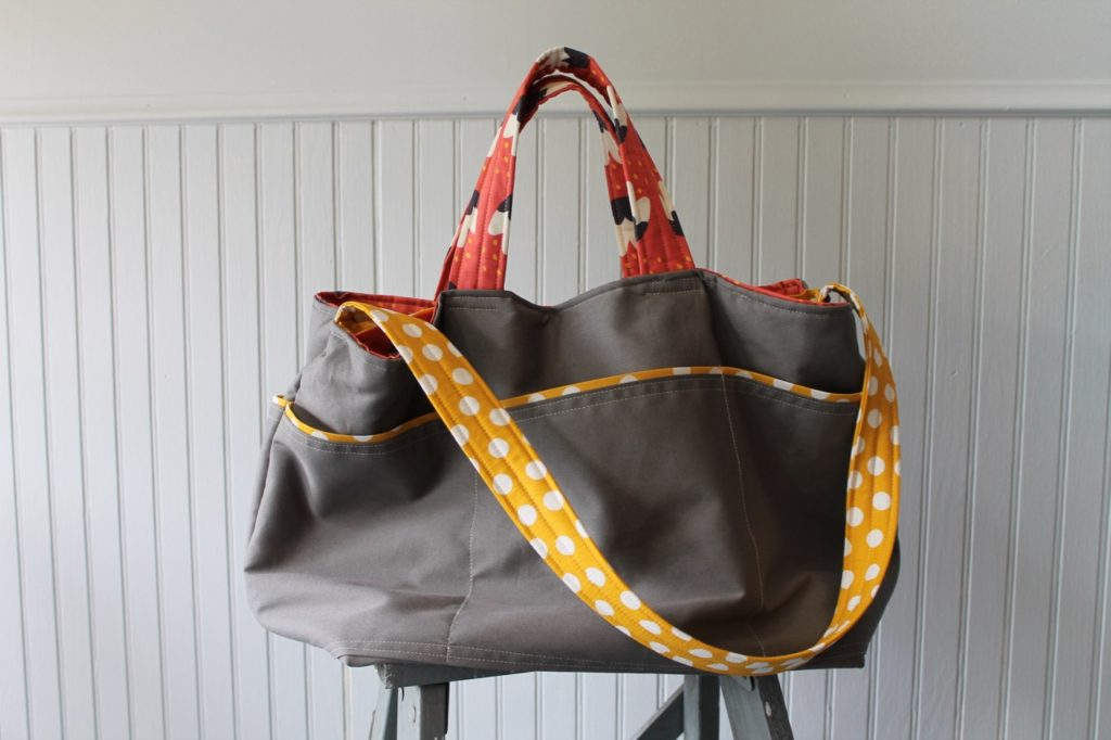 How to sew the ultimate commuter bag by Sewspire