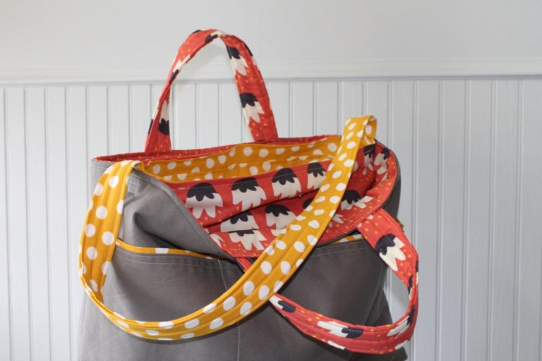 How to sew the ultimate commuter tote bag by Sewspire