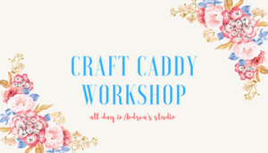 In Studio Sewing Workshop July 28, 2018