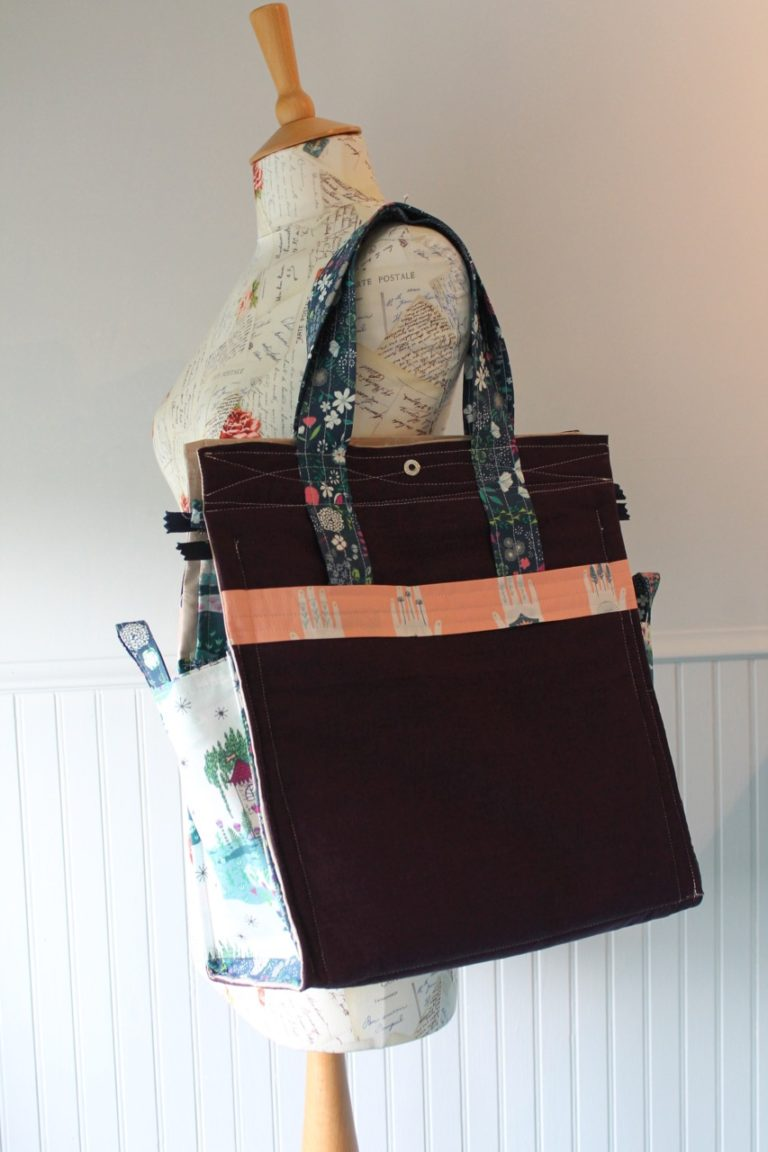 An introduction to my newest bag design: The Lifestyle Tote