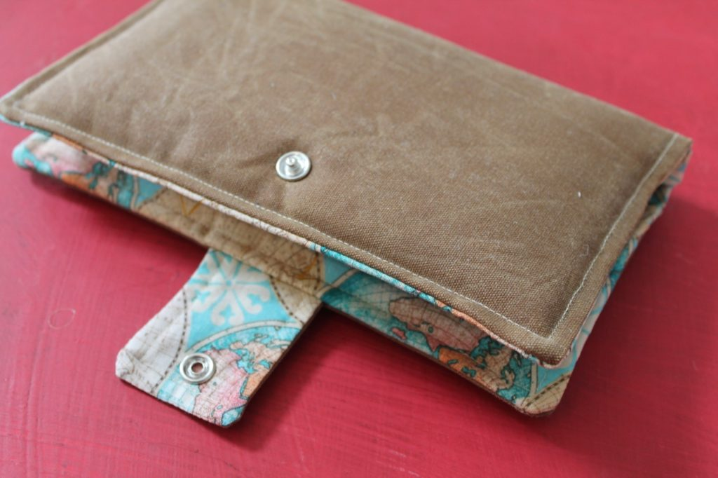 Bi Fold Wallet Wristlet Passport Sewing Tutorial