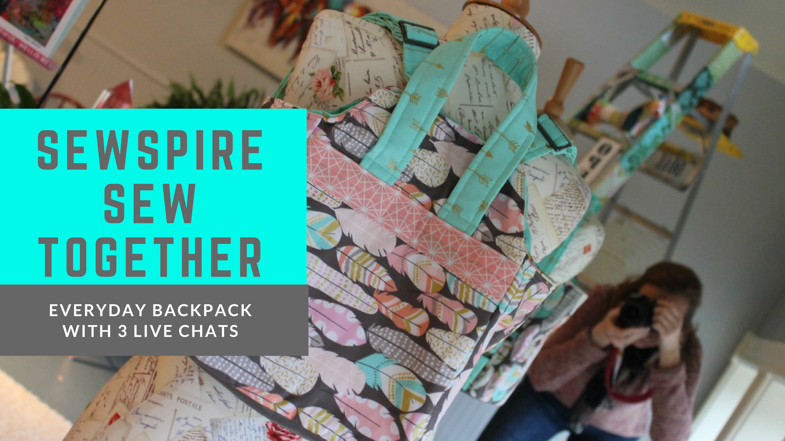 Sewspire Sew Together Everyday Backpack
