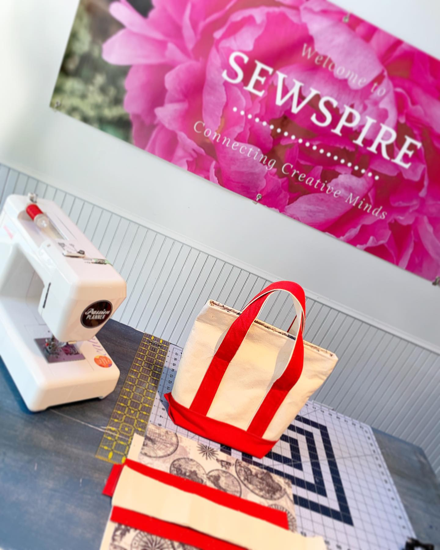 How to Sew a Duck Canvas Tote