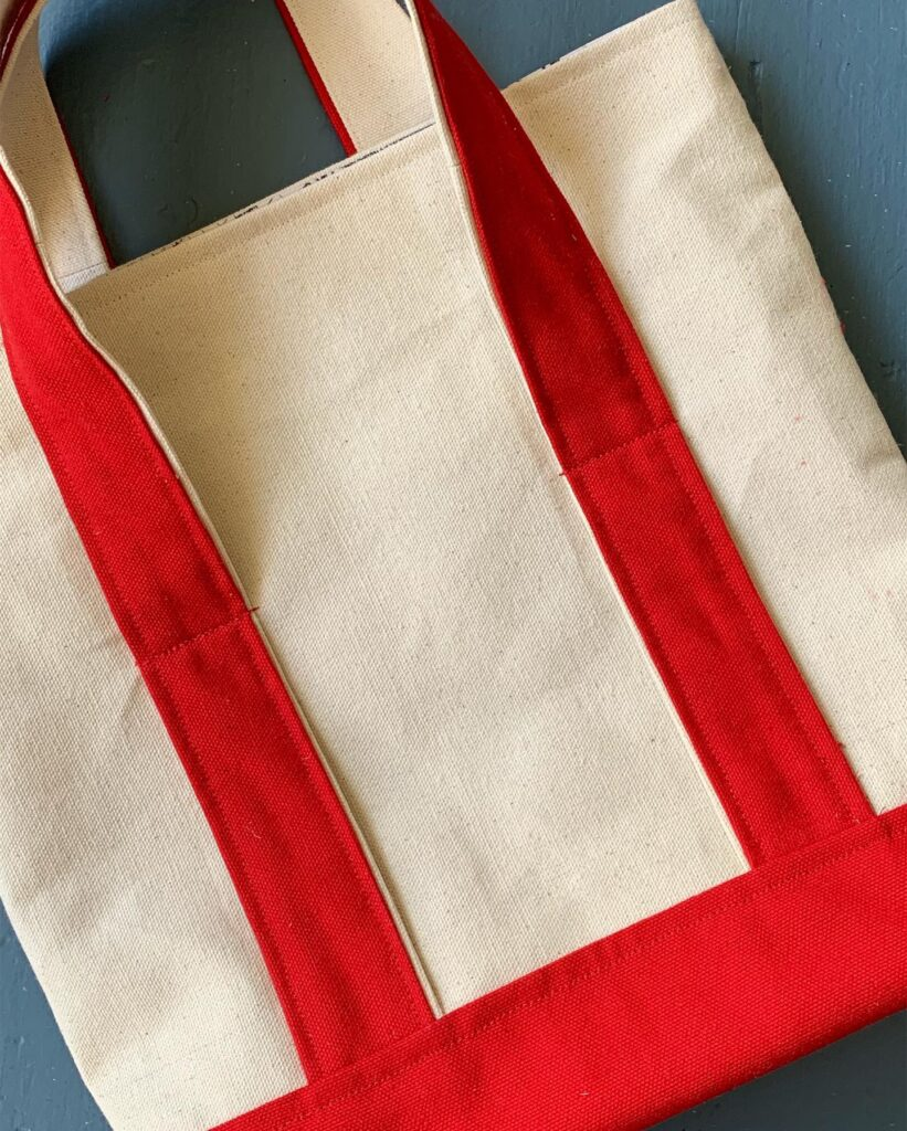 Been There Done That Tote Bag --- Pattern & Tutorial