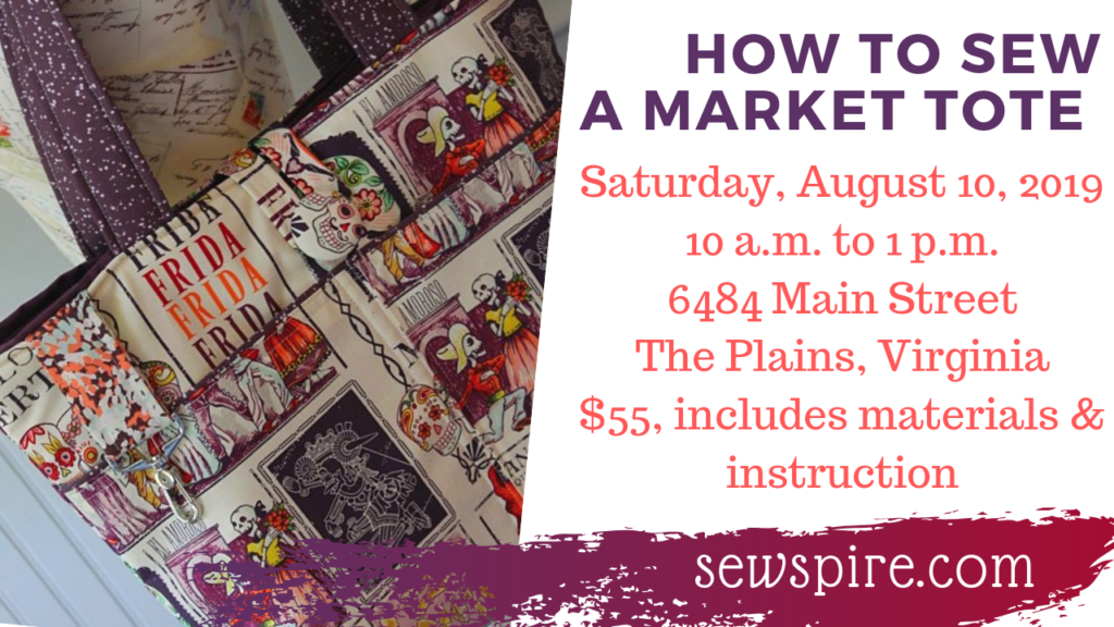 How to Sew a Market Tote Bag