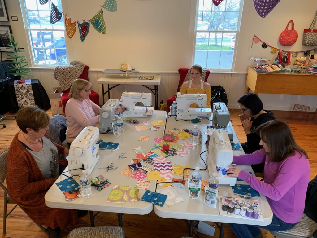 Sewspire In Studio Sewing Workshops
