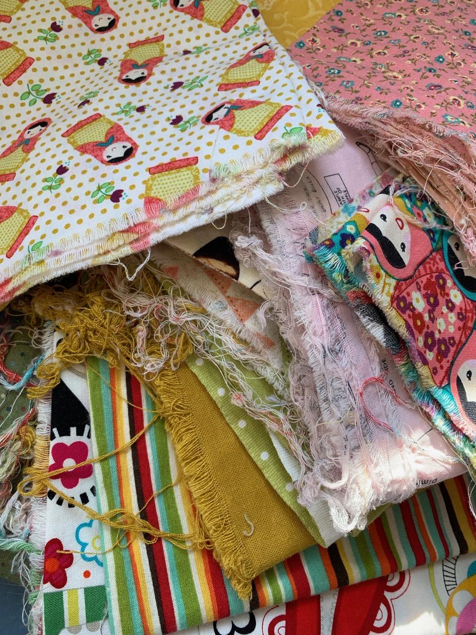 Prewashed fabric bundle