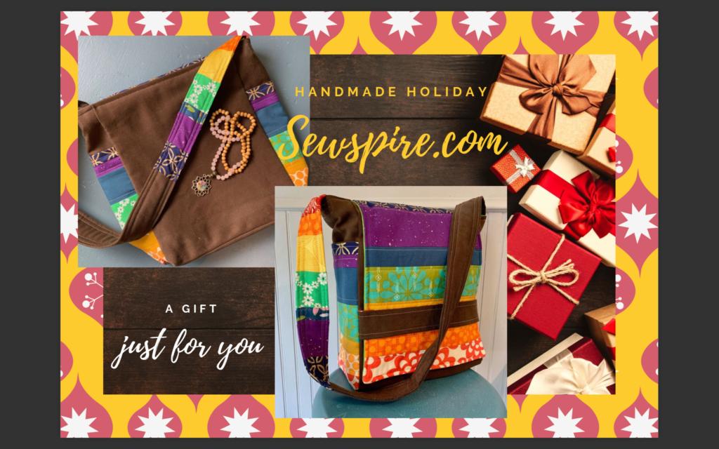 Handmade Holiday Seven Chakra Inspired Messenger Bag