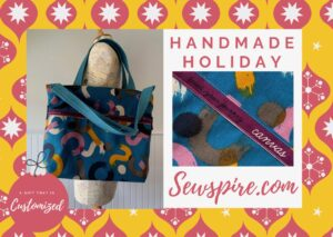 How to sew a large custom Journey Tote Bag