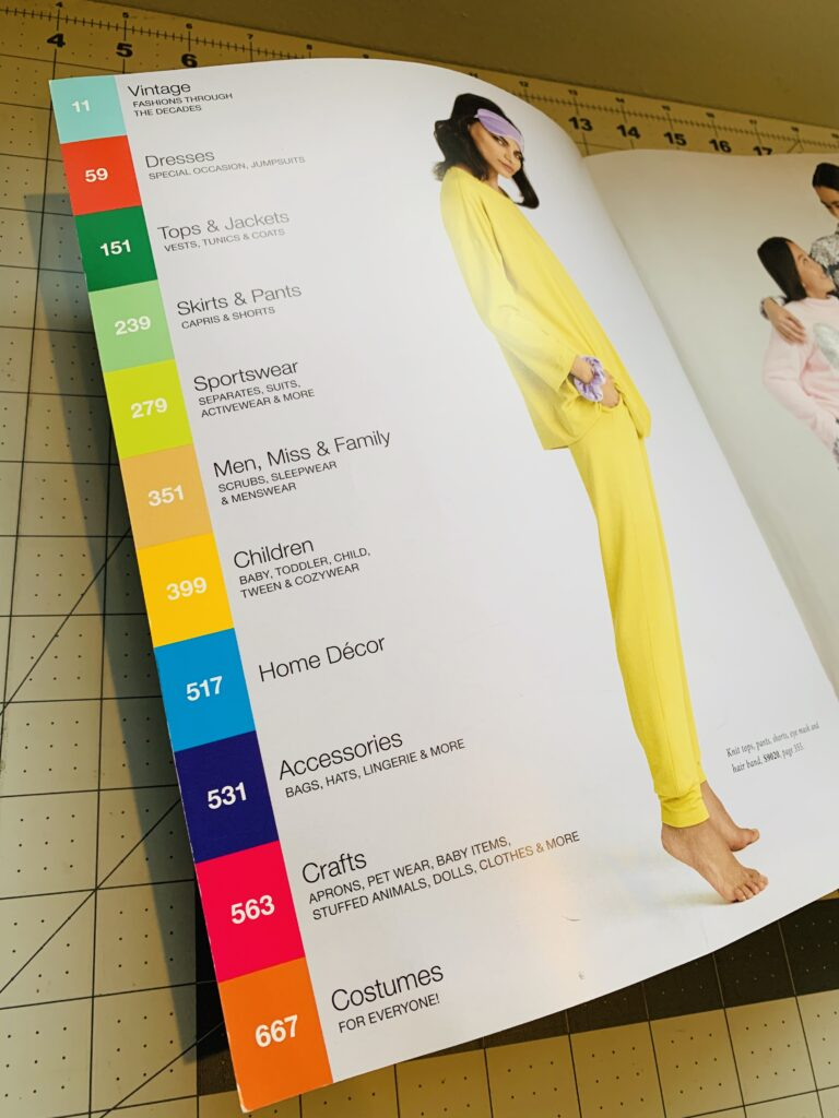 Sewing Pattern Catalog Love