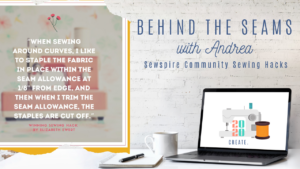 Sewspire Community Sewing Hacks 2020