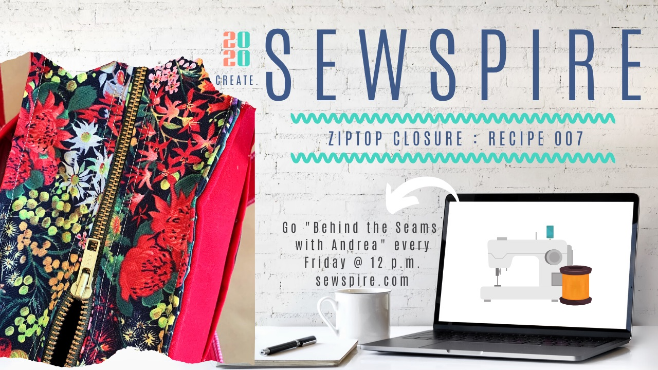 How to sew a Utility Tote Bag by Sewspire