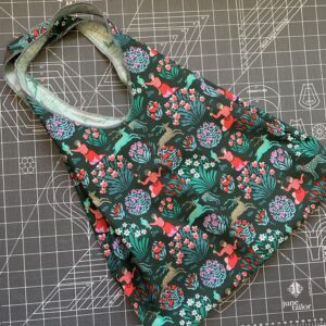 Serger Shopping Tote Bag Sewing Tutorial